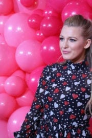 Blake Lively at L'Oreal Paris Paints + Colorista Launch in New York