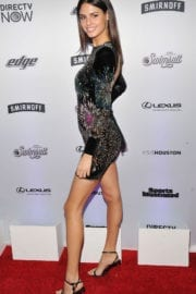 Bo Krsmanovic Stills at Sports Illustrated Swimsuit Edition Launch in New York