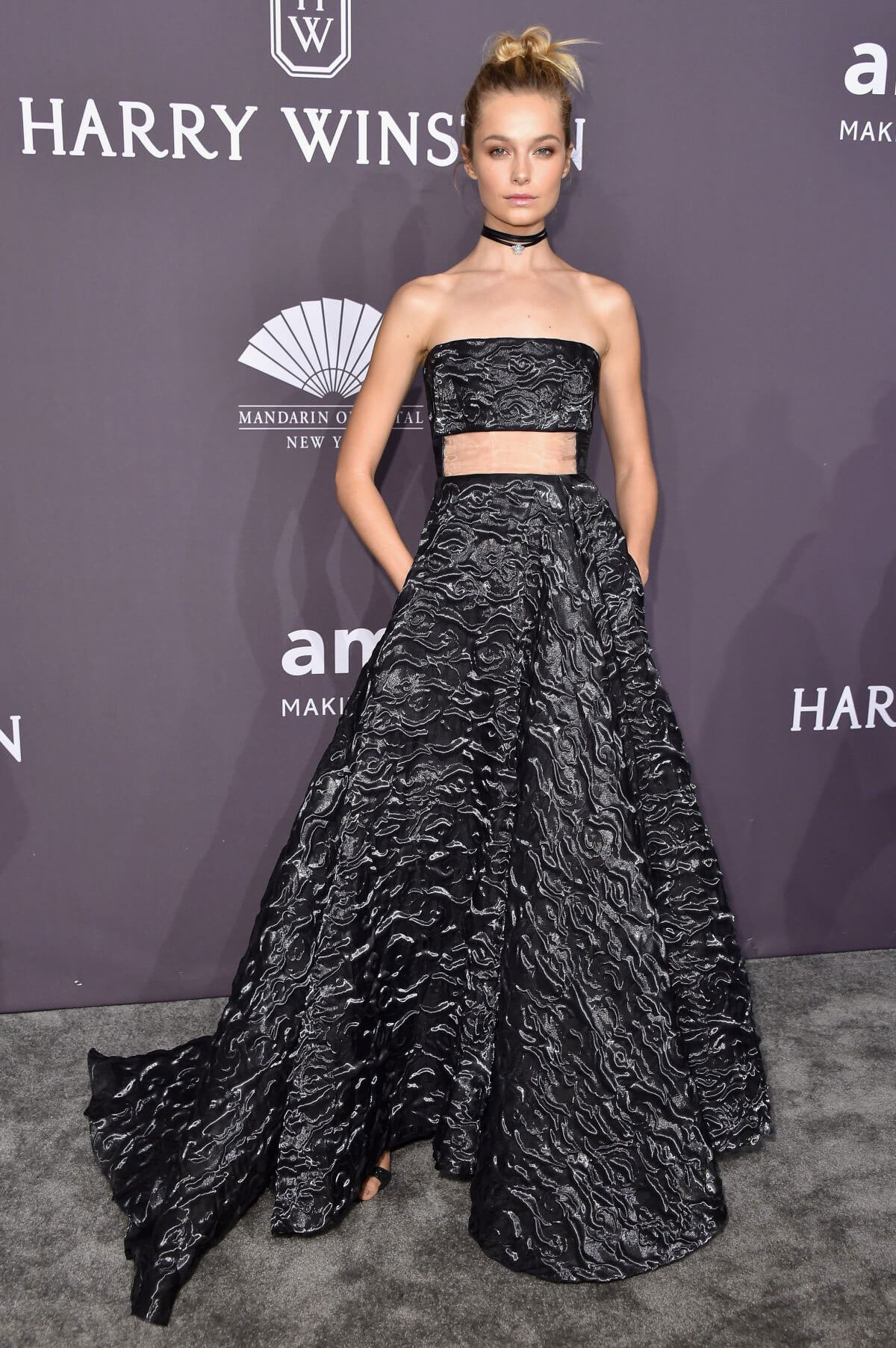 Bridget Malcolm at AMFAR 2017 New York Gala