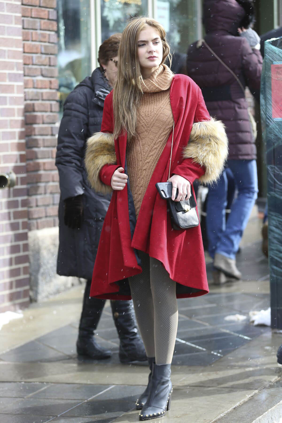 Brighton Sharbino Out and About in Park City