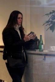 Brooke Shields Stills Out for Coffee in New York