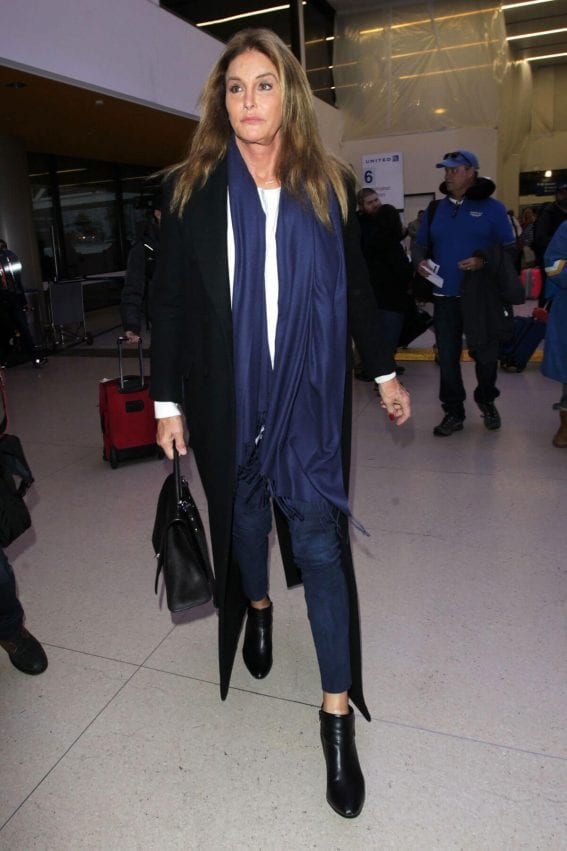 Caitlyn Jenner at LAX Airport in Los Angeles