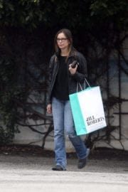 Calista Flockhart Out for Shopping in Los Angeles