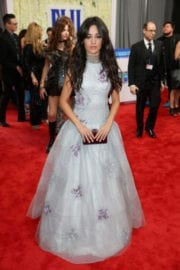 Camila Cabello at 59th Annual Grammy Awards in Los Angeles