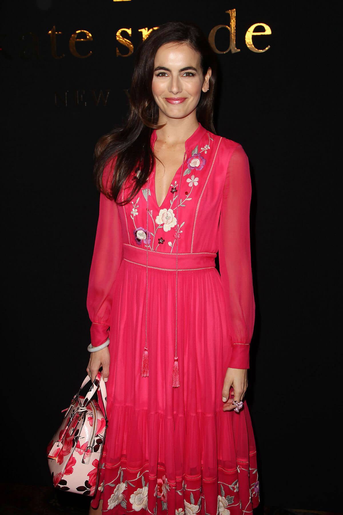 Camilla Belle Stills at Kate Spade Fashion Show at New York Fashion Week