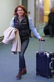 Candace Cameron Bure at Vancouver International Airport