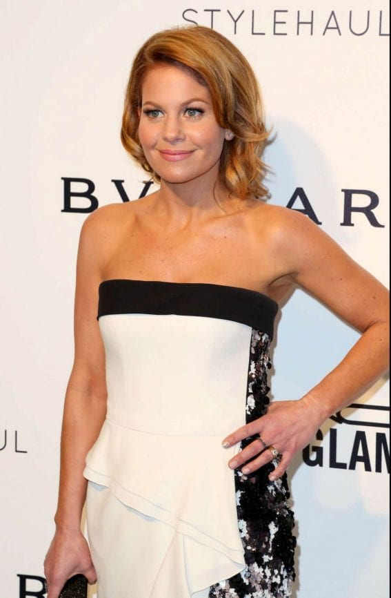 Candace Cameron-Bure Stills at 25th Annual Elton John Aids Foundation's Oscar Party in Hollywood