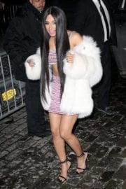 Cardi B Night Out in New York City