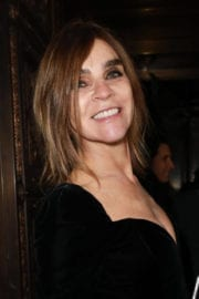 Carine Roitfeld Arrives at Philipp Plein Fashion Show in New York