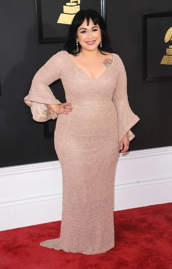 Carla Morrison at 59th Annual Grammy Awards in Los Angeles