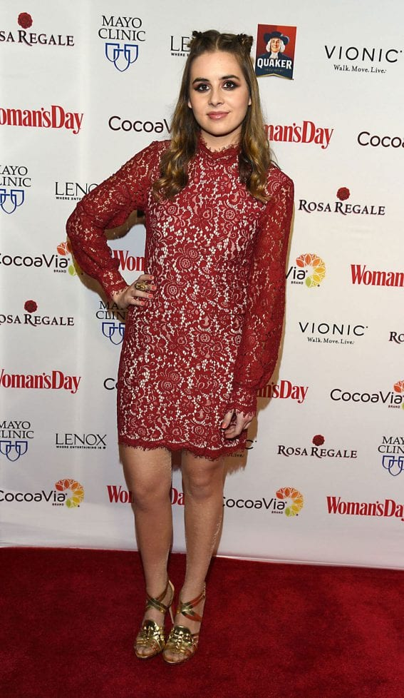 Carly Rose Sonenclar at Women's Day 14th Annual Red Dress Awards in New York