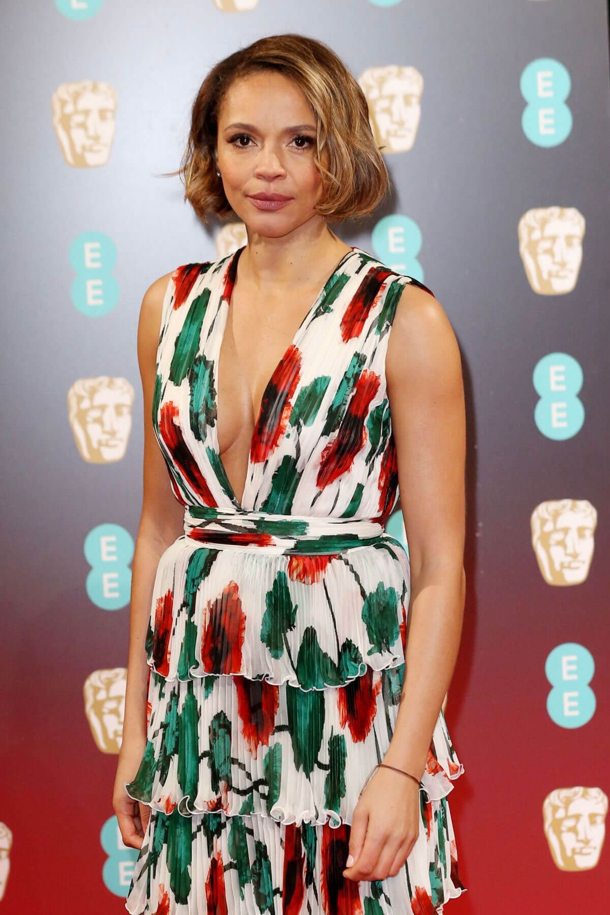 Carmen Ejogo Stills at Bafta 2017 Awards in London