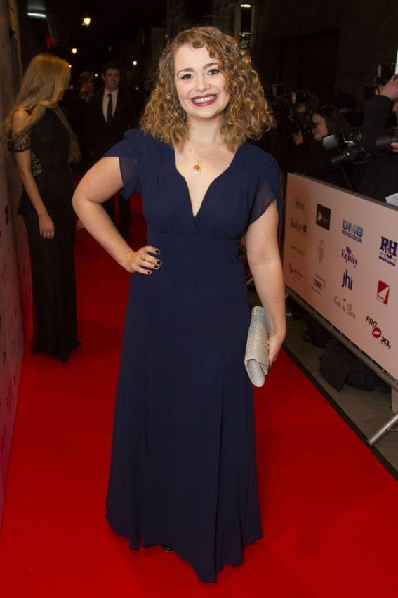 Carrie Hope Fletcher Stills at 2017 WhatsOnStage Awards Concert in London