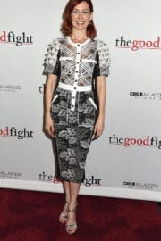 Carrie Preston at 'The Good Fight' Premiere in New York