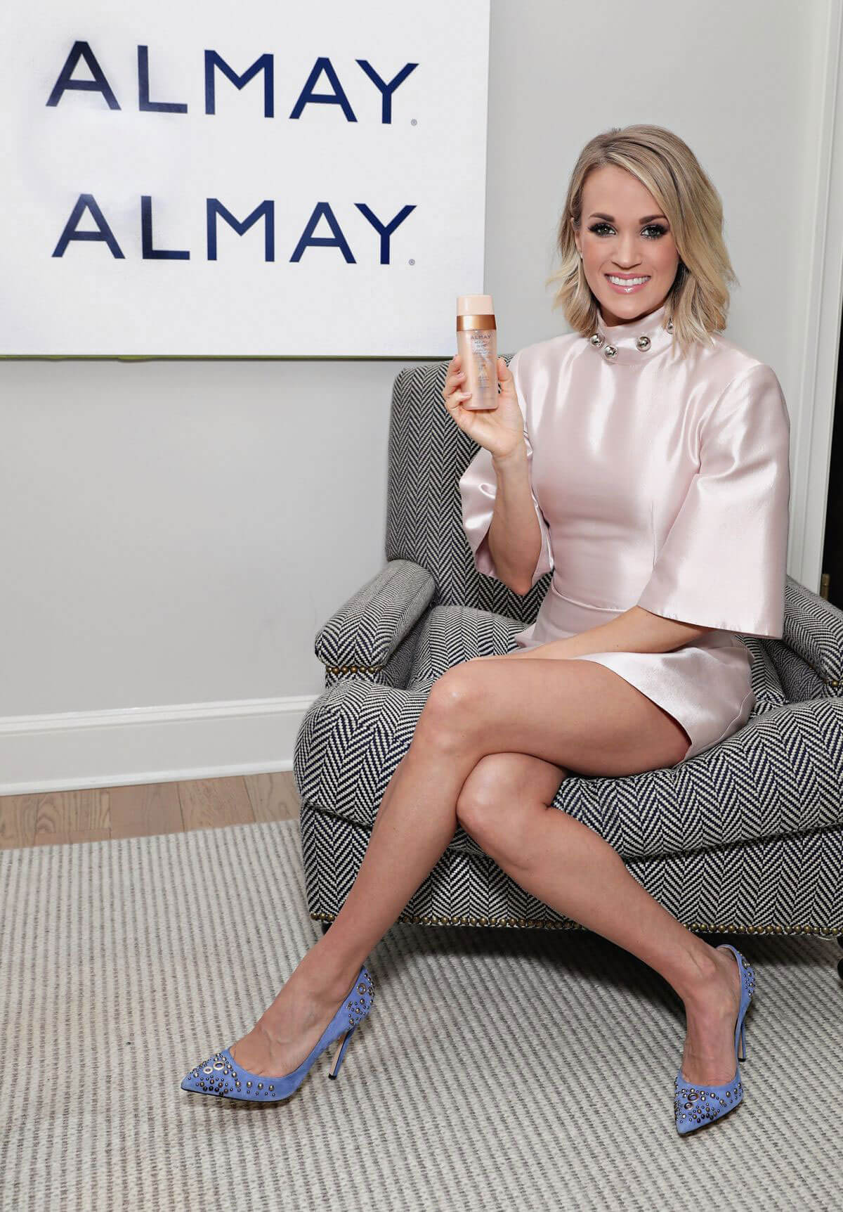 Carrie Underwood at Almay Healthy Glow Beauty Day in New