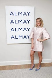 Carrie Underwood at Almay Healthy Glow Beauty Day in New York