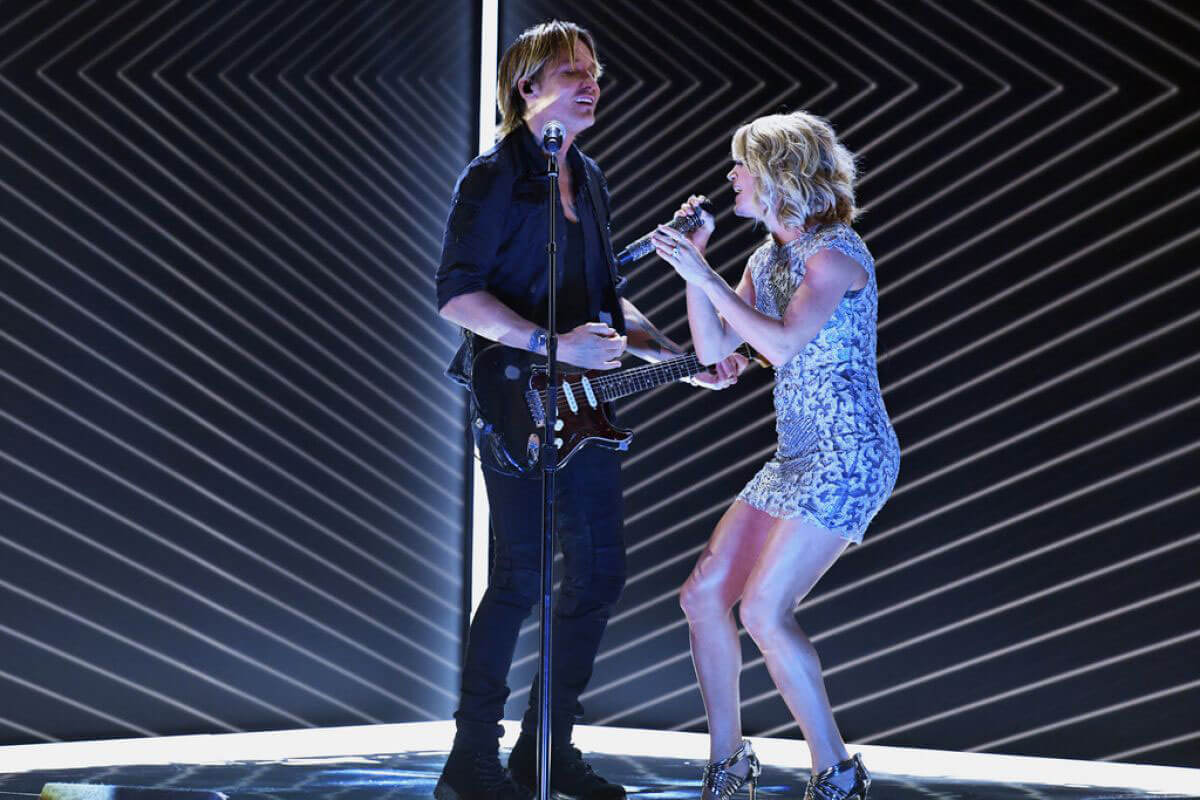 Carrie Underwood Performs at 2017 Grammy Awards in Los Angeles