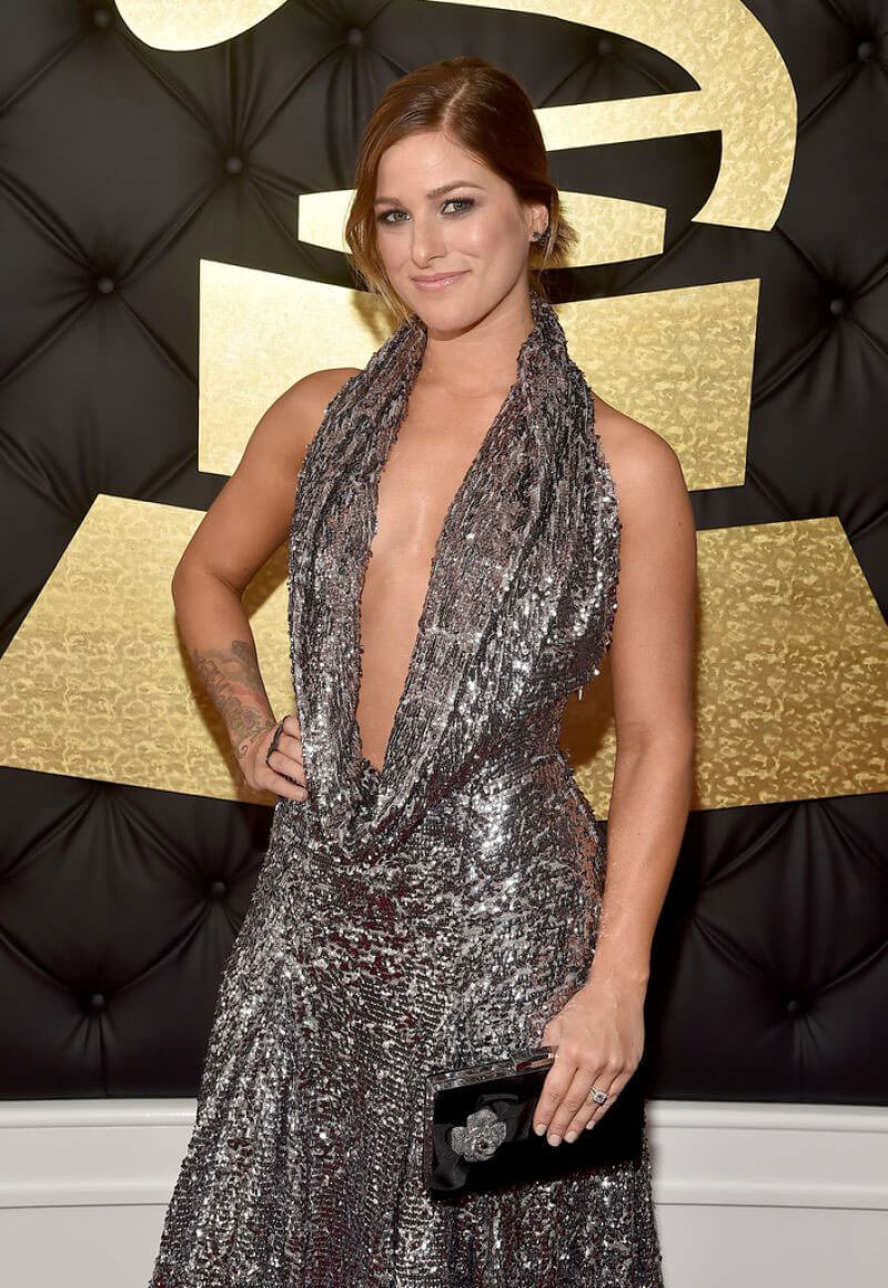 Cassadee Pope Stills at 59th Annual Grammy Awards in Los Angeles