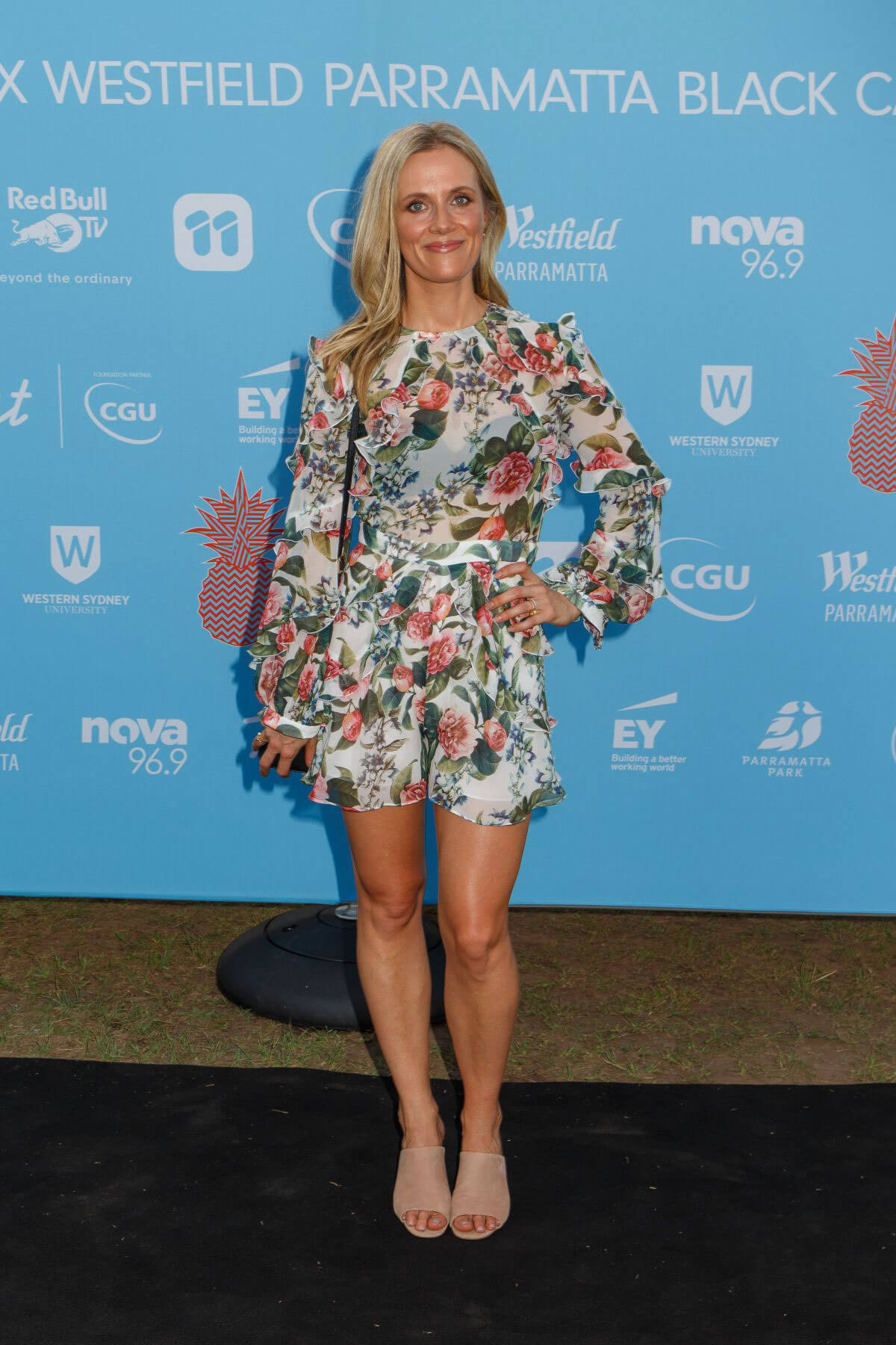 Catherine Mack at Tropfest 25 Film Festival in Sydney