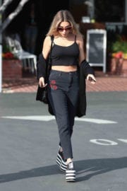 Chantel Jeffries Leaves Fred Segal in West Hollywood