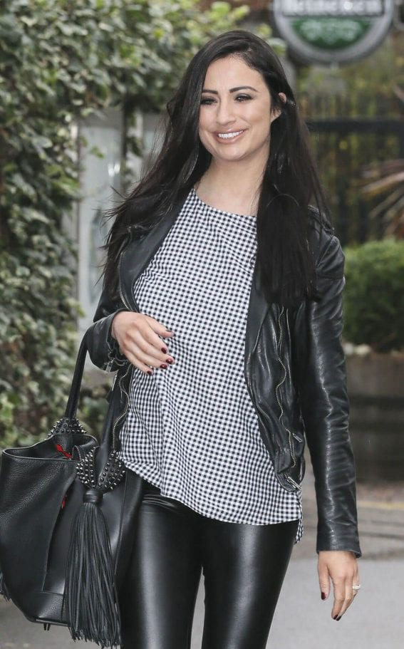 Chantelle Houghton Stills at ITV Studios in London