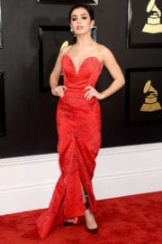 Charli XCX at 59th Annual Grammy Awards in Los Angeles