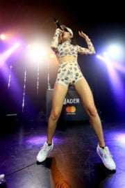 Charli XCX Performs at Masterpass #thankthefans House in Los Angeles