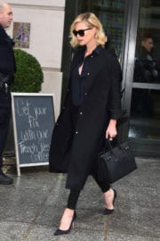 Charlize Theron Out and About in New York