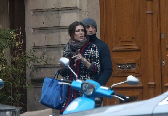 Charlotte Casiraghi Out In Paris