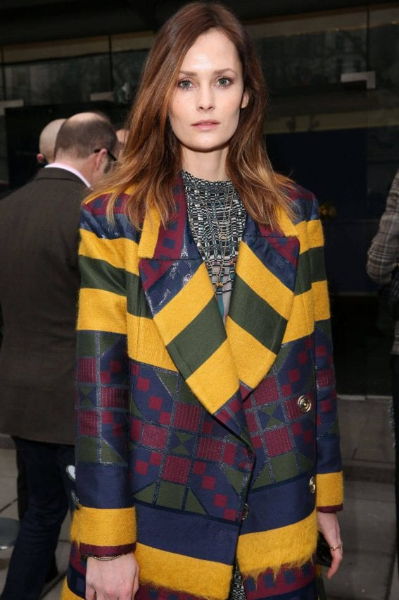 Charlotte de Carle Stills at Teatum Jones Fashion Show at London Fashion Week