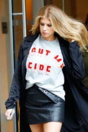 Charlotte Mckinney Out and About in New York