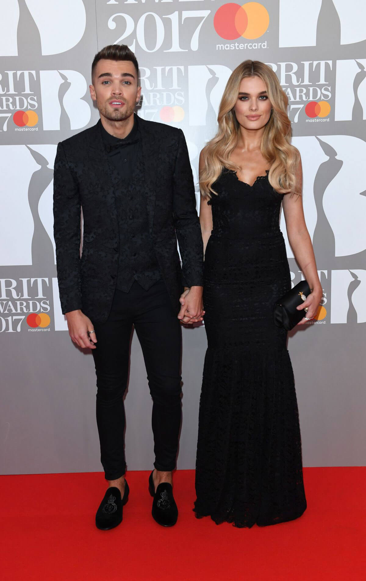 Chloe Lloyd Stills at Brit Awards 2017 in London