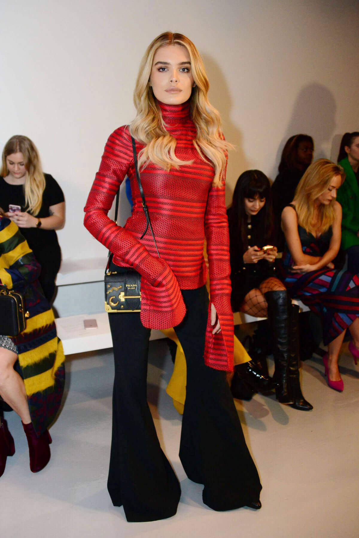 Chloe Lloyd Stills at Teatum Jones Fashion Show at London Fashion Week