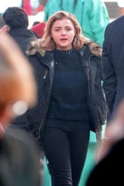 Chloe Moretz Out and About in New York