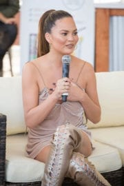 Chrissy Teigen Stills at VIBES by SI Swimsuit 2017 Launch Festival in Houston