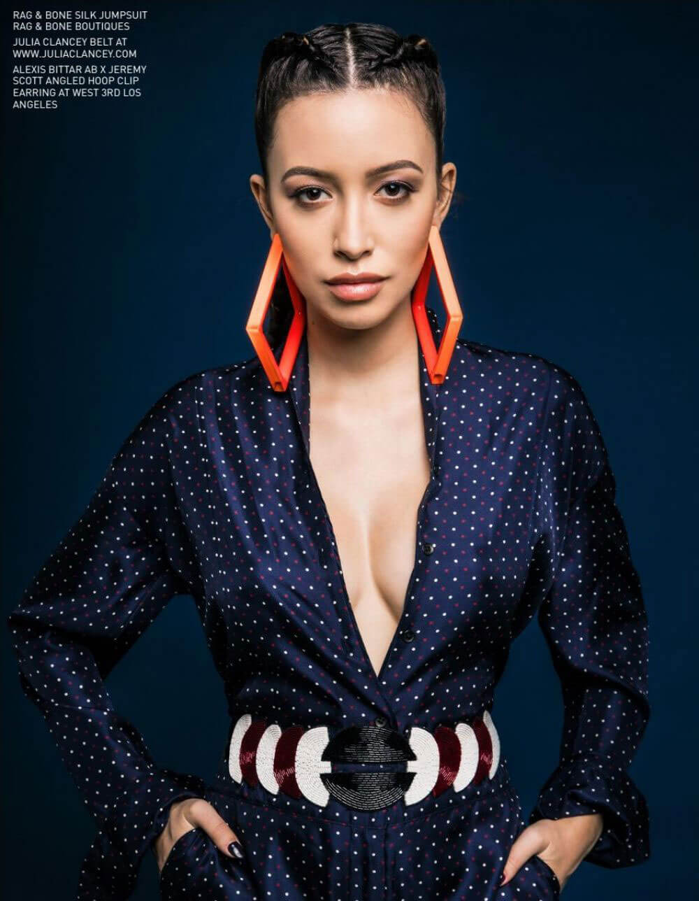 Christian Serratos in Bello Magazine Photoshoot 2017