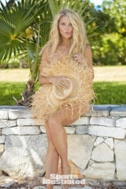 Christie Brinkley for Photoshoot in SI Swimsuit Edition 2017