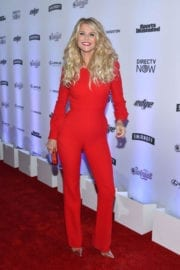 Christie Brinkley Stills at Sports Illustrated Swimsuit Edition Launch in New York