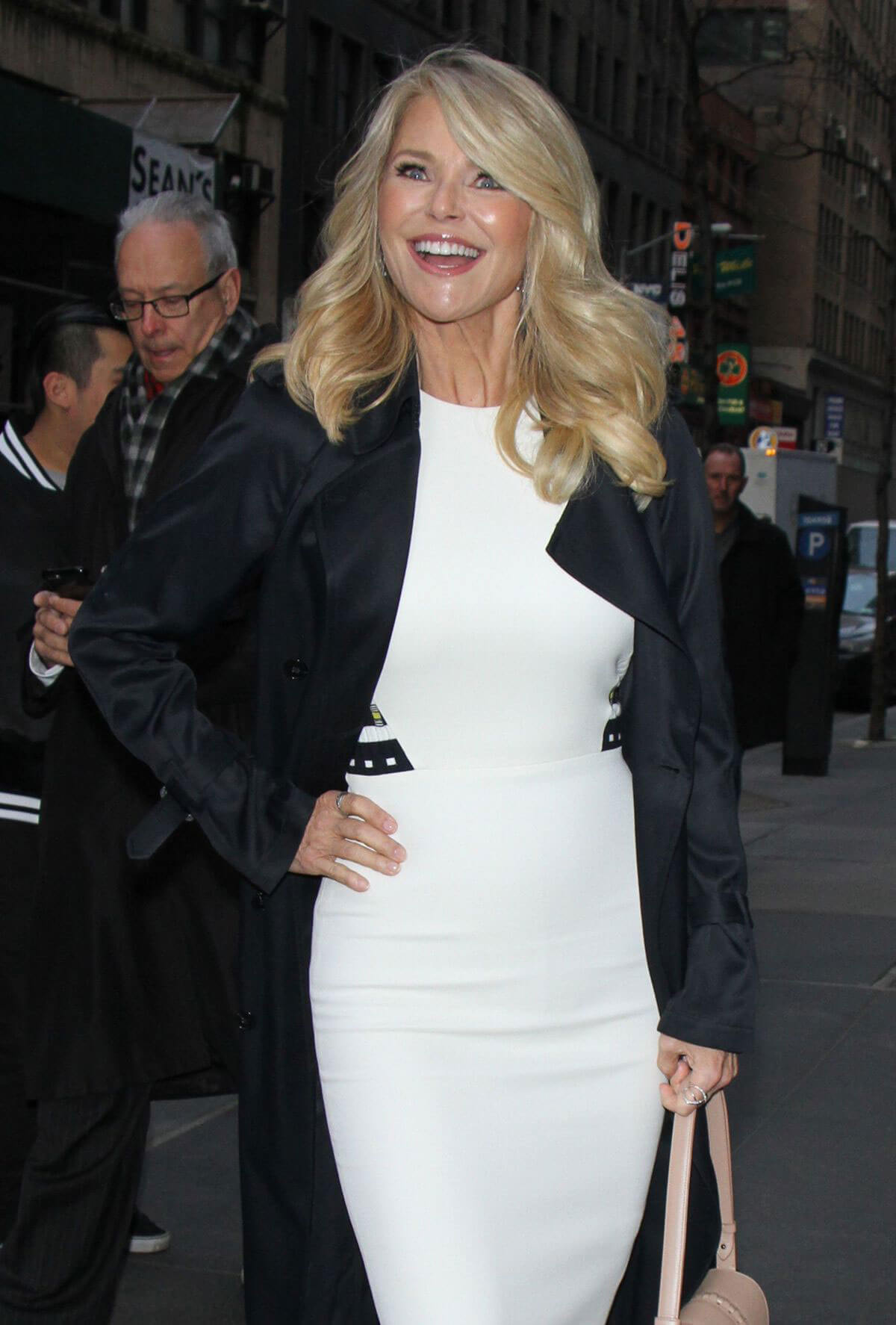 Christie Brinkley Stills at Today Show in New York