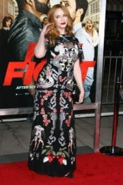 Christina Hendricks at 'Fist Fight' Premiere in Westwood