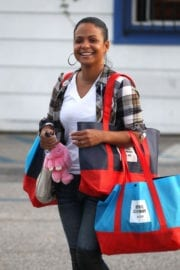 Christina Milian Out and About in West Hollywood