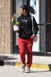 Christina Milian Stills Out Shopping in Studio City