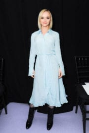 Christina Ricci at Altuzarra Fashion Show at New York Fashion Week