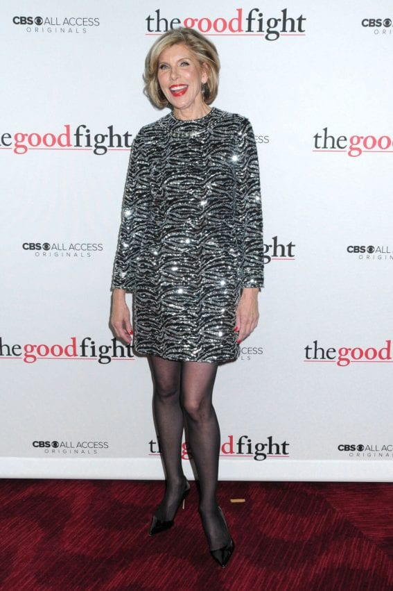 Christine Baranski at 'The Good Fight' Premiere in New York