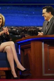 Christine Baranski Stills at Late Show with Stephen Colbert