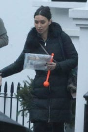 Christine Bleakley Leaves Her Home in London