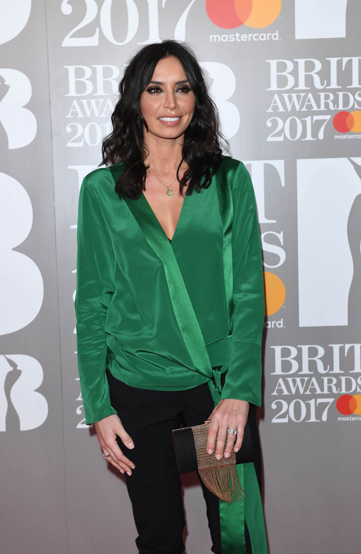 Christine Bleakley Stills at Brit Awards 2017 in London
