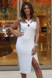 Cindy Crawford at Omega Watches Store Opening in Sydney
