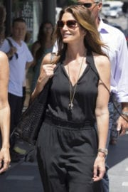 Cindy Crawford Out Shopping in Sydney