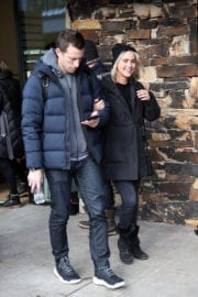 Claire Holt Out and About in Park City